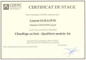 Stage Qualibois Air